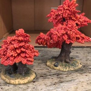 Rite Aid Accents - ❤2 Decorative fall trees❤